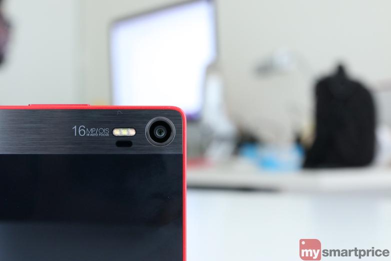 Lenovo vibe shot camera