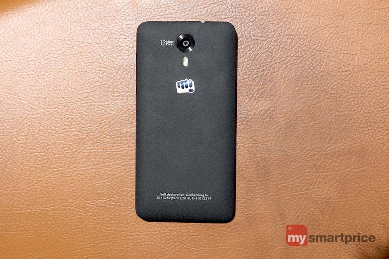 Micromax Canvas Nitro 4G Design view1