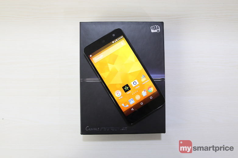 Micromax Canvas Nitro 4G Intro