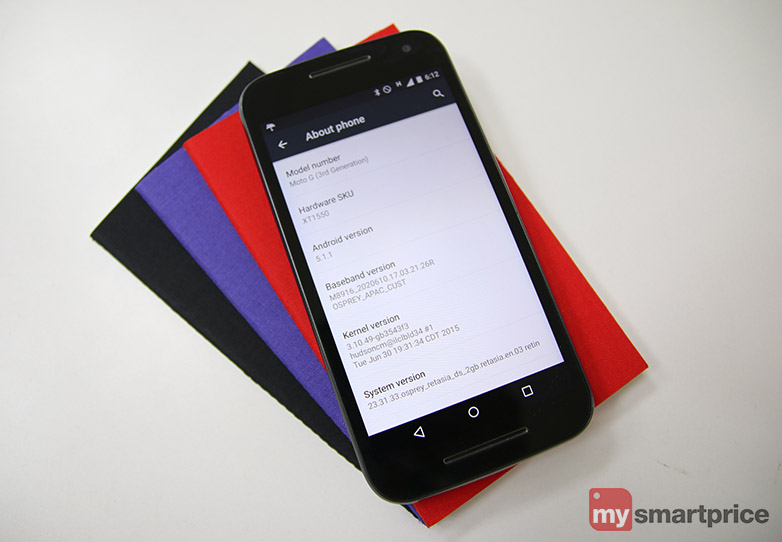 Motorola Moto G 3rd Gen Review - Software and Apps