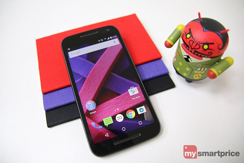 Motorola Moto G 3rd Gen Review - Display