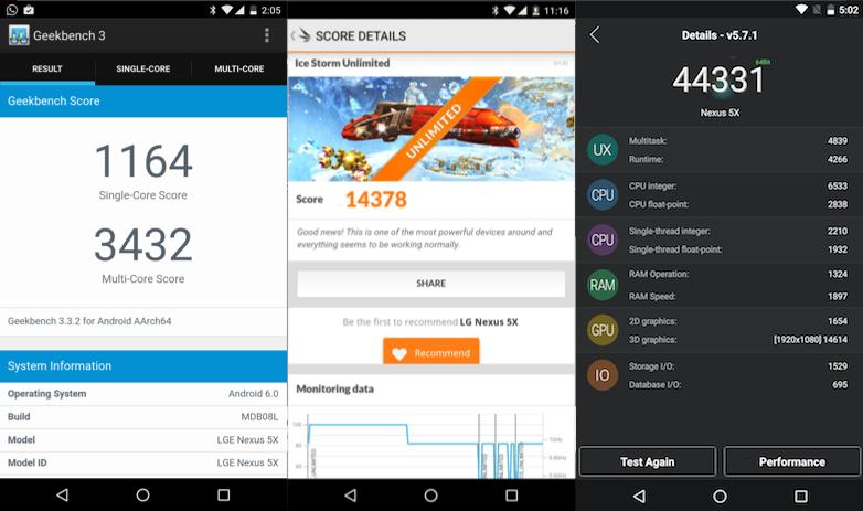 Nexus 5X performance