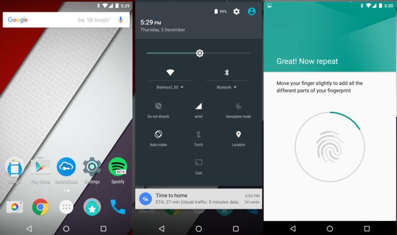 Nexus 5X software