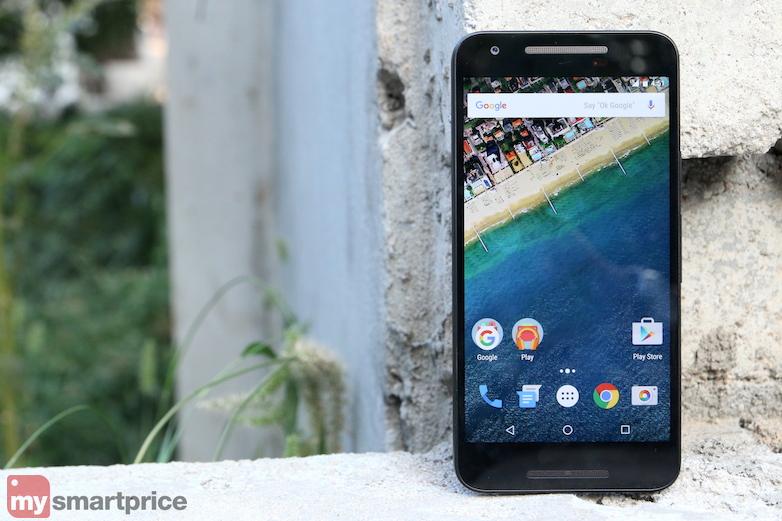 Google Nexus 5X display