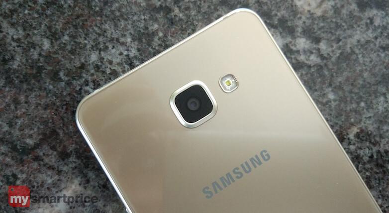 Samsung Galaxy A7 rear camera