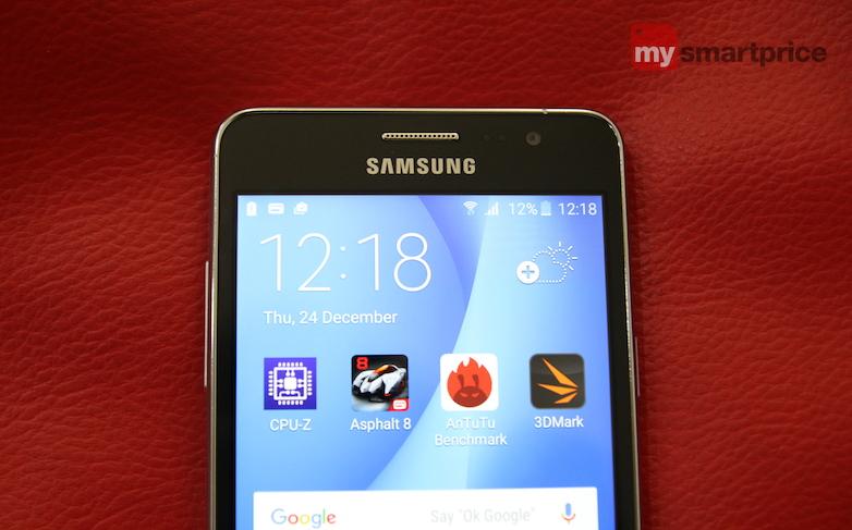 Samsung Galaxy On5 design