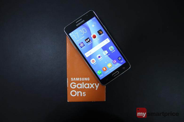 Samsung Galaxy On5 introduction