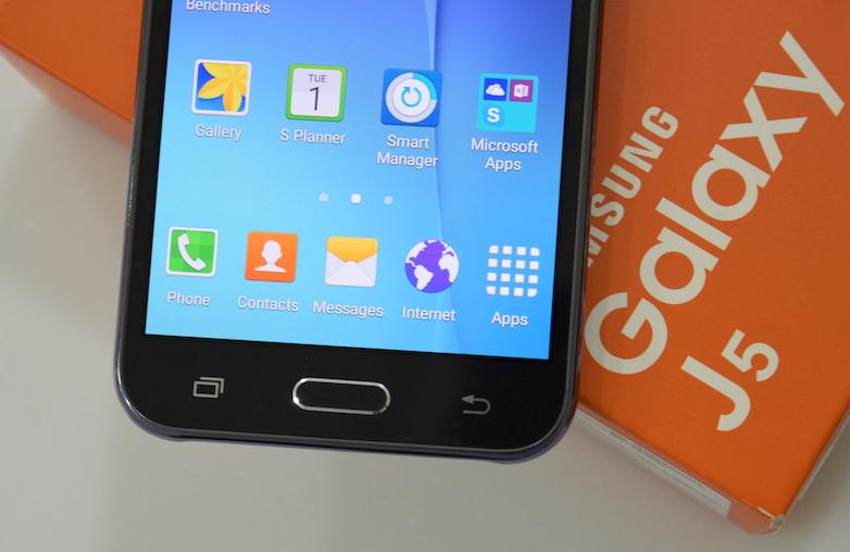 Samsung Galaxy J5-view