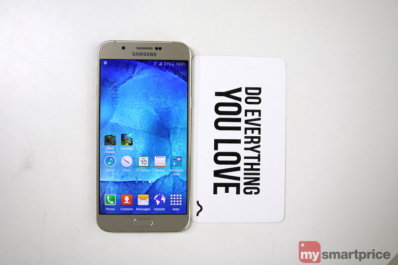 Samsung Galaxy A8 Review - Display